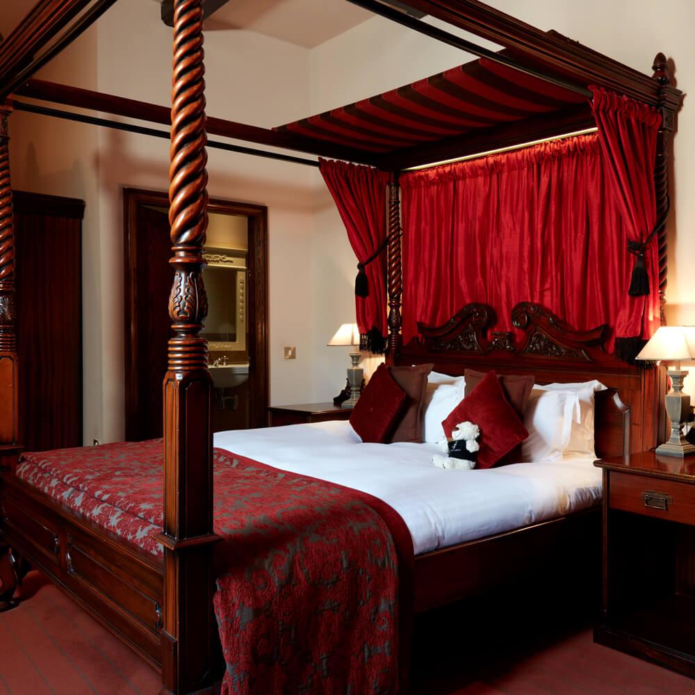 Luxury Hotel Room Interior Design: Luxury Castle Hotel In Cheshire - Peckforton